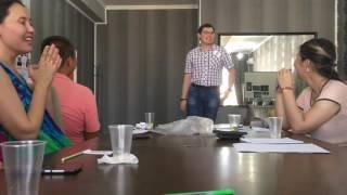 Election Speech - VP of Education - Abay Syzdykov
