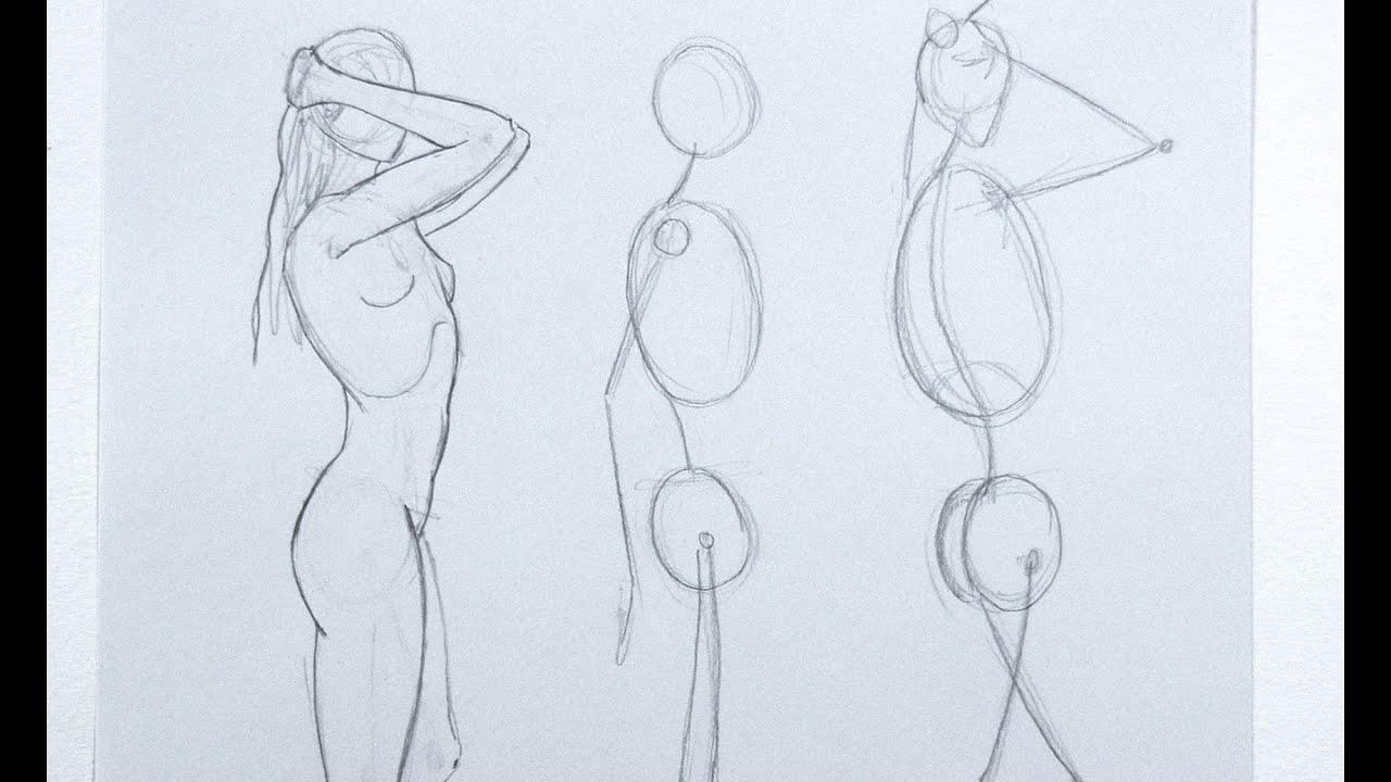 Cómo dibujar una figura de la imaginación y de memoria - Parte 1 ...