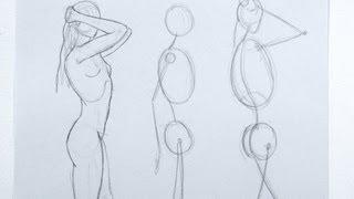 Cómo dibujar una figura de la imaginación  y de memoria - Parte 1- Arte Divierte.
