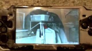 PSP 3000 playing YouTube (PSPtube)