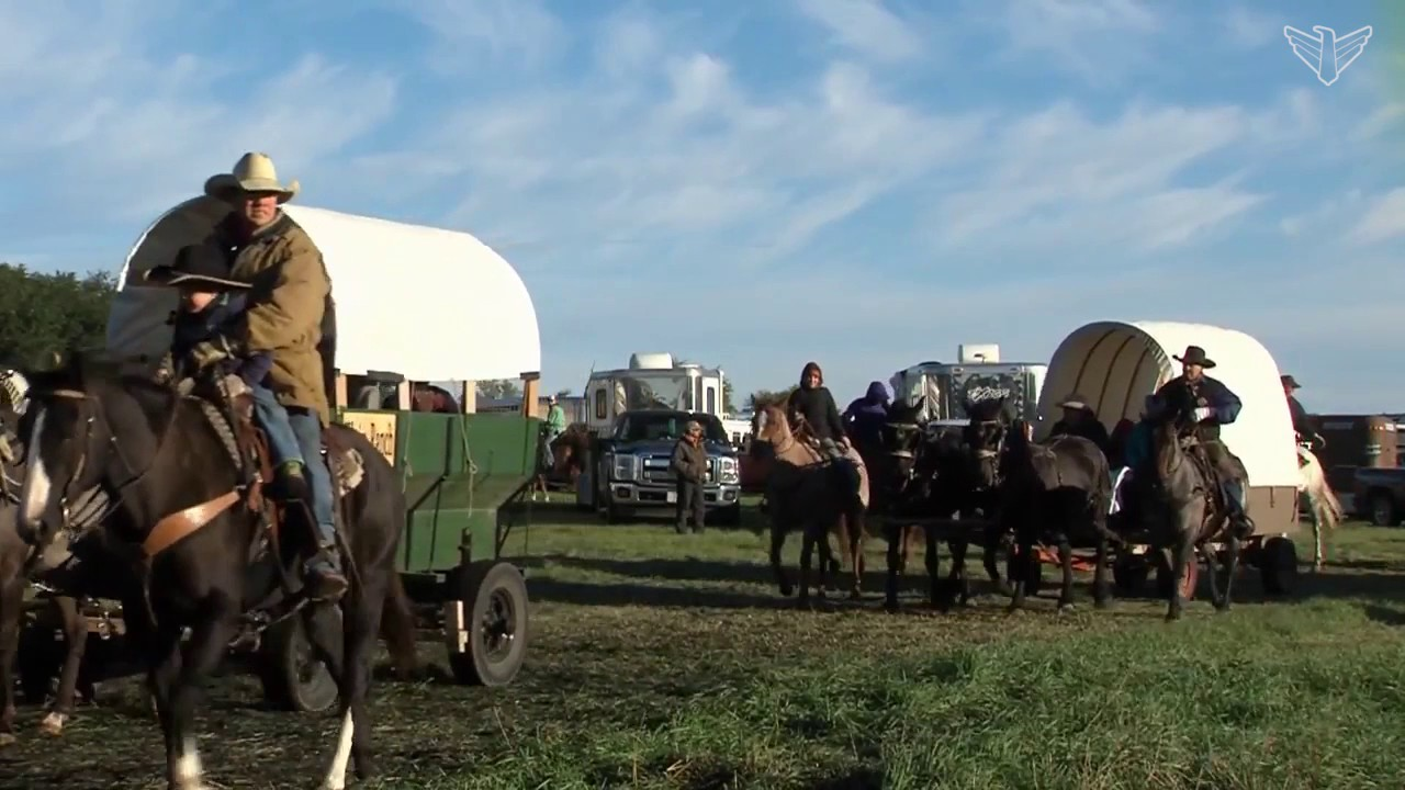 125th Statehood Anniversary Wagon Train