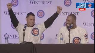 Cubs Con: Willson Contreras Tells Profanity Laced Story