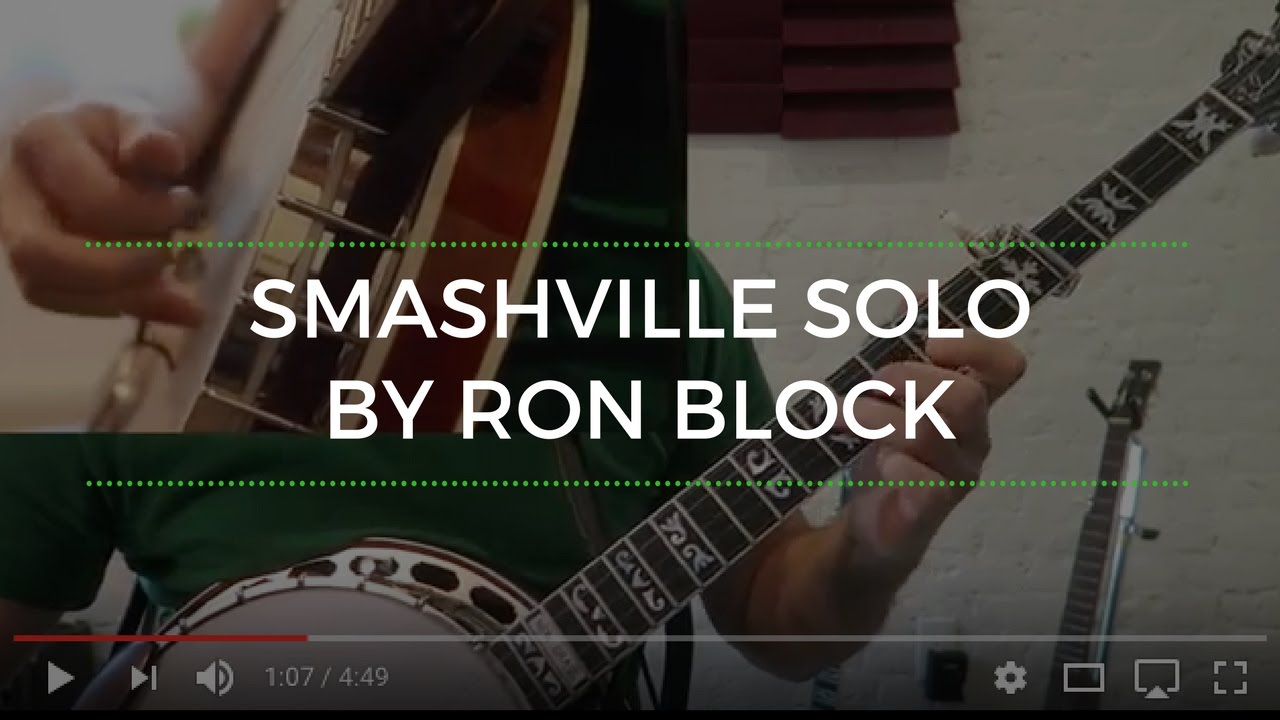 Smashville Solo by Ron Block [Banjo Lesson]