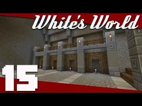 Minecraft: White's World - 015 - 1.12 Blocks and Mine Design!   Minecraft 1.12 Survival Singleplayer