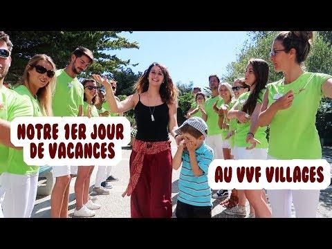 NOTRE 1ER JOUR DE VACANCES AU VVF VILLAGES! VLOG VACANCES ANGIE MAMAN 2.0