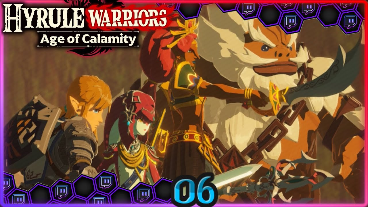 Hyrule S New Champions Blind Run Part 6 Let S Play Hyrule Warriors Age Of Calamity Stream 451 Youtube