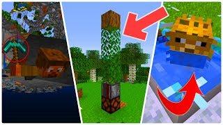 5 PRZEGENIALNYCH LIFEHACKÓW w Minecraft!