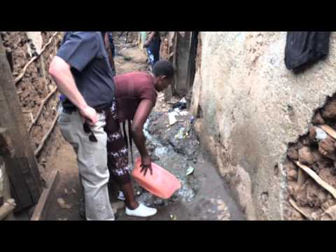 Walkthrough of Huruma Slums in Kenya, Africa