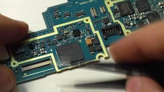 Замена микросхемы памяти Samsung N8000