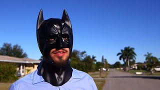 Man Says He's A Superhero, Finds People Who Break The Law And Tries To 'Bring Them To Justice'