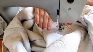 Как заштопать джинсы между ног как зашить дырку на швейной машинке(DIY: Штопка джинсов на швейной машинке Как заштопать джинсы между ног ремонт одежды как зашить дырку на швей..., 2016-08-07T12:45:41.000Z)