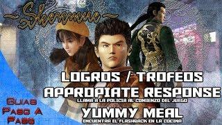 Video de Shenmue HD | Logros / Trofeos: Appropiate response y Yummy meal