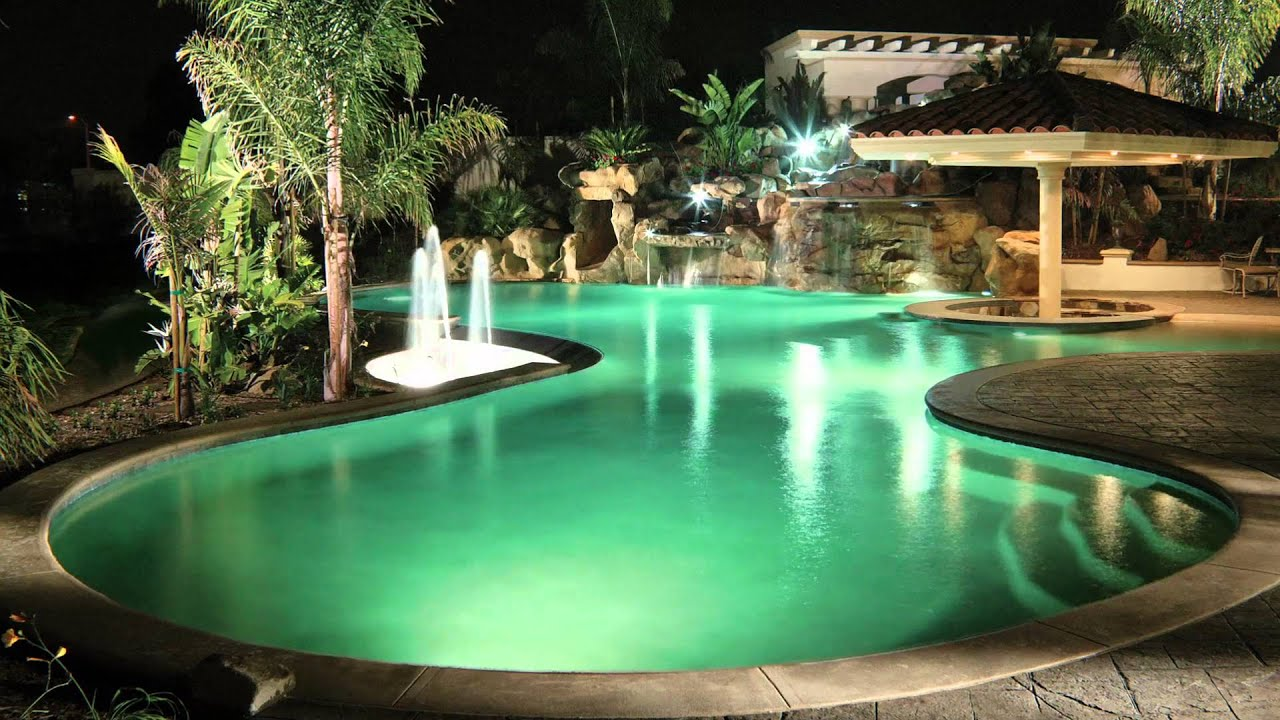 5g led color changing pool lights