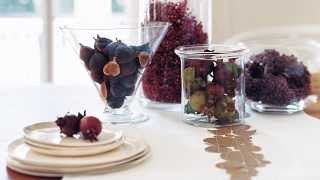3 Thanksgiving Table Decorating Ideas - Real Simple