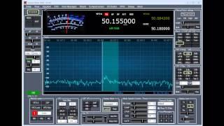 FiFi SDR 6 Meter SSB Reception - W1AEX