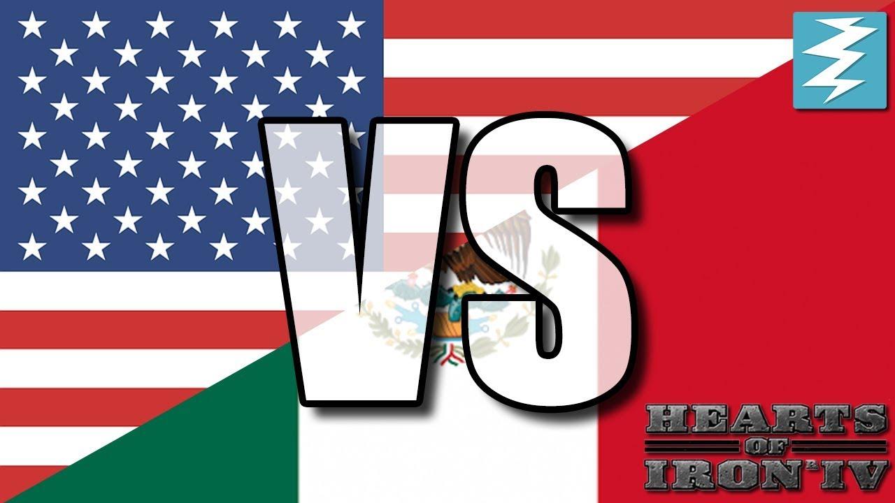 Usa Vs Mexico Ep12 Hearts Of Iron 4 Hoi4 Youtube