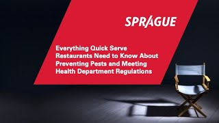 Everything Quick Serve Restaurants Need to Know to Preventing Pests & Health Dept. Regulations