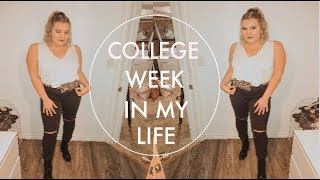 COLLEGE WEEK IN MY LIFE: Western University, Snow Fall, Going Out