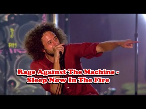 rage against the machine sleep now in the