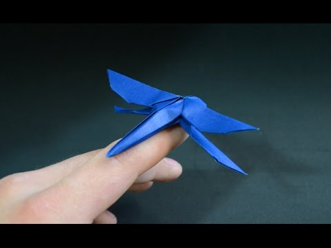 Origami: Dragonfly