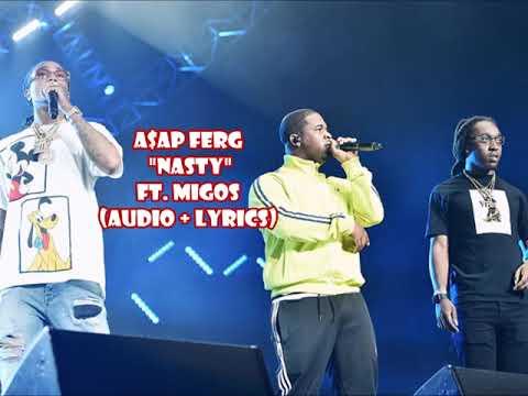 A$AP Ferg - Nasty (Who Dat) ft Migos [audio + lyrics]
