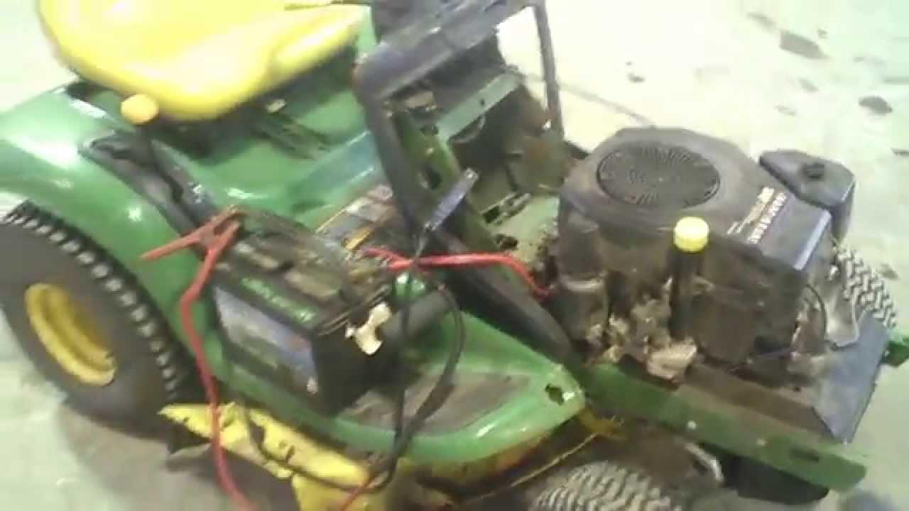 lot 1794a john deere lt133 gear tear down [ 1280 x 720 Pixel ]