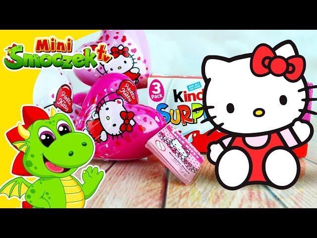 Hello Kitty Serduszka i Jajka Niespodzianki | Zabawki Bajki Filmik Po Polsku Dla Dzieci