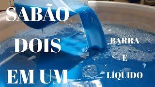 Sabão em Barra Ou Liquido – Aprenda a Fazer as Duas Maneiras – Clareador e Branqueador