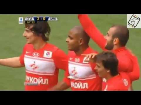 Y. Movsisyan's goal (FC Spartak) vs FC Amkar