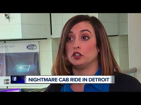 Cab ride turns into nightmare for metro Detroit woman after NAIAS Charity Preview