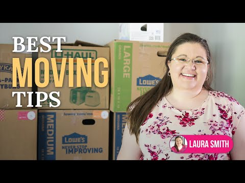 Organized Moving Tips: Low Stress Packing & Moving
