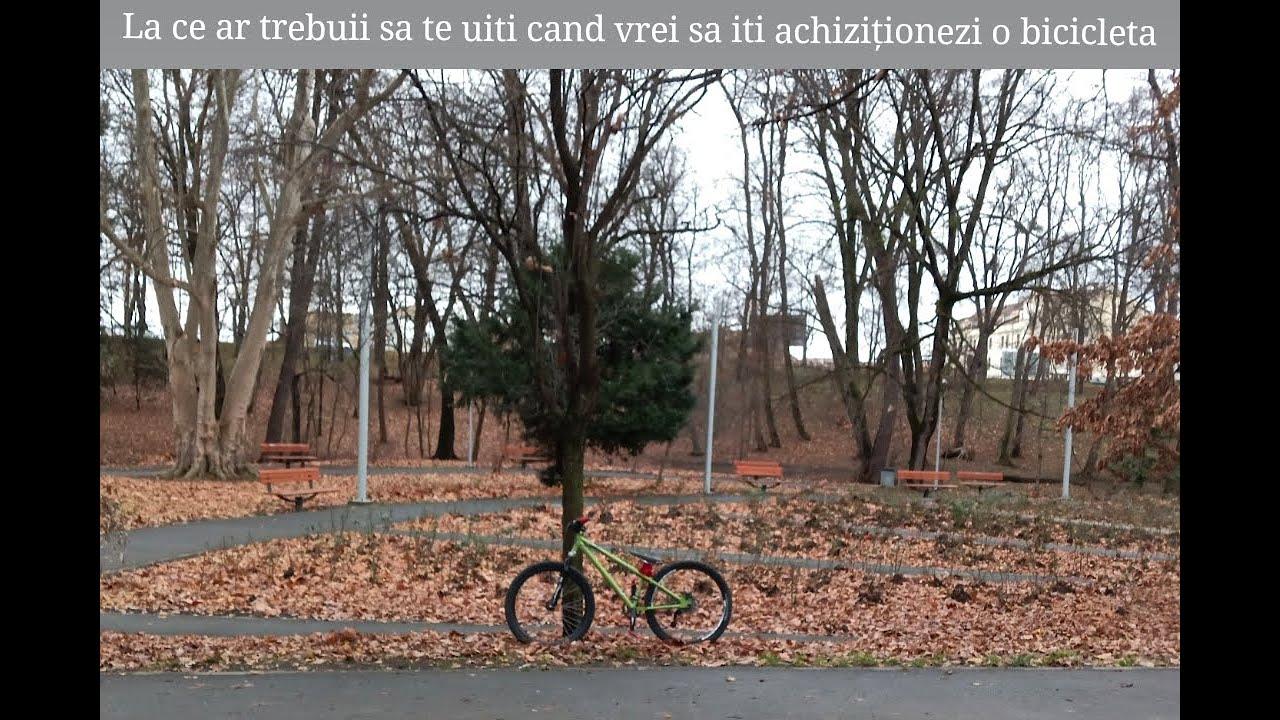 La ce ar trebui sa te uiti cand cumperi o bicicleta?
