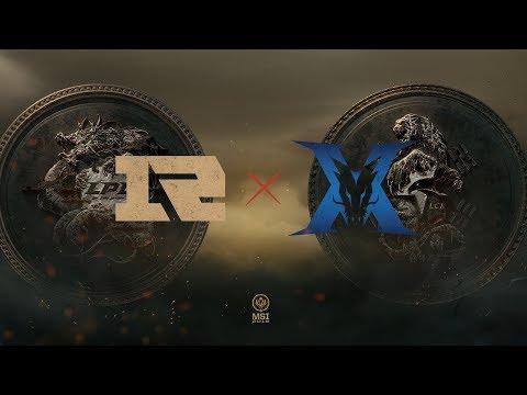 RNG x King-Zone (MSI 2018 - Fase de Grupos - Dia 1)