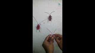how to make funny cockroach toys