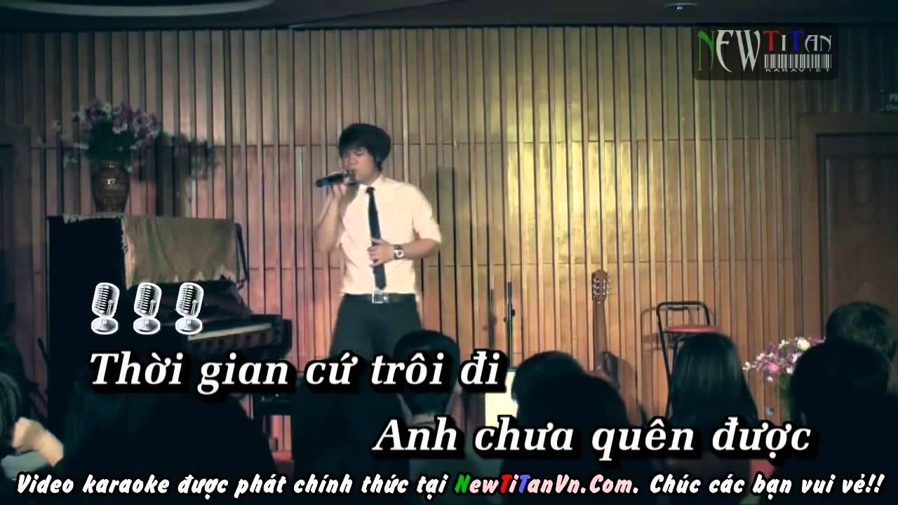 Tình anh - Đinh Mạnh Ninh [Karaoke-Beat] Full