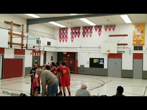Golden West Middle vs. Vaca Pena Middle School 2019-01-15 By STS Productions
