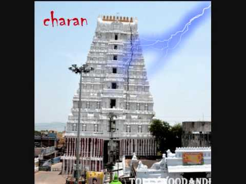 srikalahasti gali gopuram falling animated