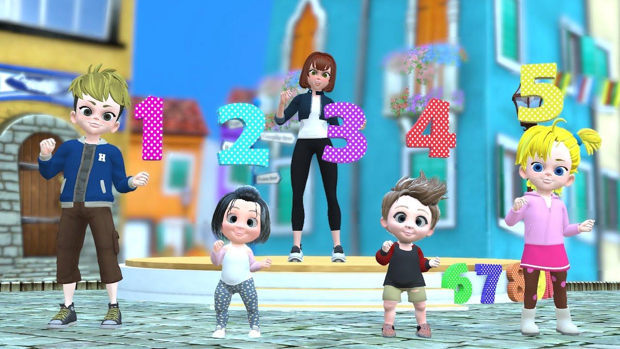 เพลงนับเลข ฝึกนับเลข 1 - 10 - The Kids Song