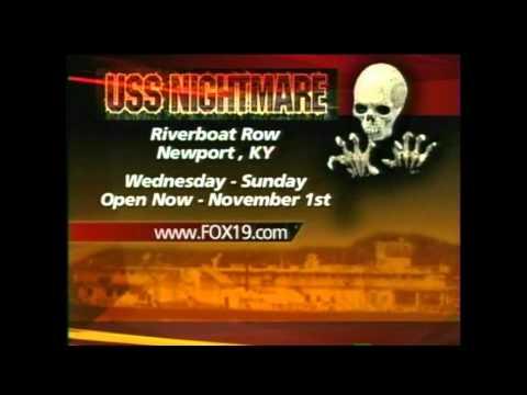 Fox 19 Cincinnati Visits the USS Nightmare 2009