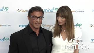 Sylvester Stallone and Jennifer Flavin at Goldie Hawn's Goldie's Love in for Kids' event