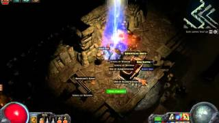 Path of Exile - Vaults of Atziri Map #1