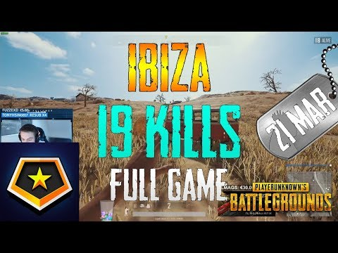 Ibiza | 19 Kills | PUBG
