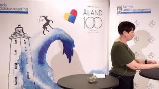 Åland 100 webbinarium 20.04.2021