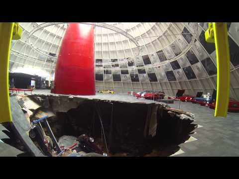 Sinkhole Footage - Helicopter Shots
