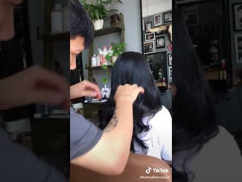 Kiểu tóc xoăn dành cho học sinh