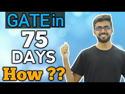 How I Cracked GATE in 75 Days | Strategy to Crack GATE in 75 Days | qualify gate exam | Well academy