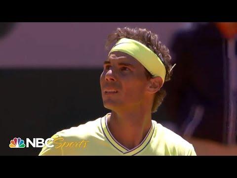 2019 French Open: Rafael Nadal vs. Roger Federer | EXTENDED HIGHLIGHTS | NBC Sports