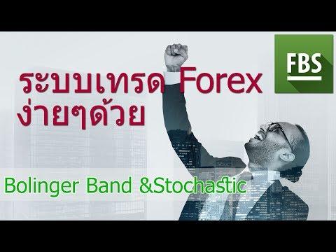 ระบบเทรด Forex ง่ายๆด้วย Bolinger Band & Stochastic -FBS