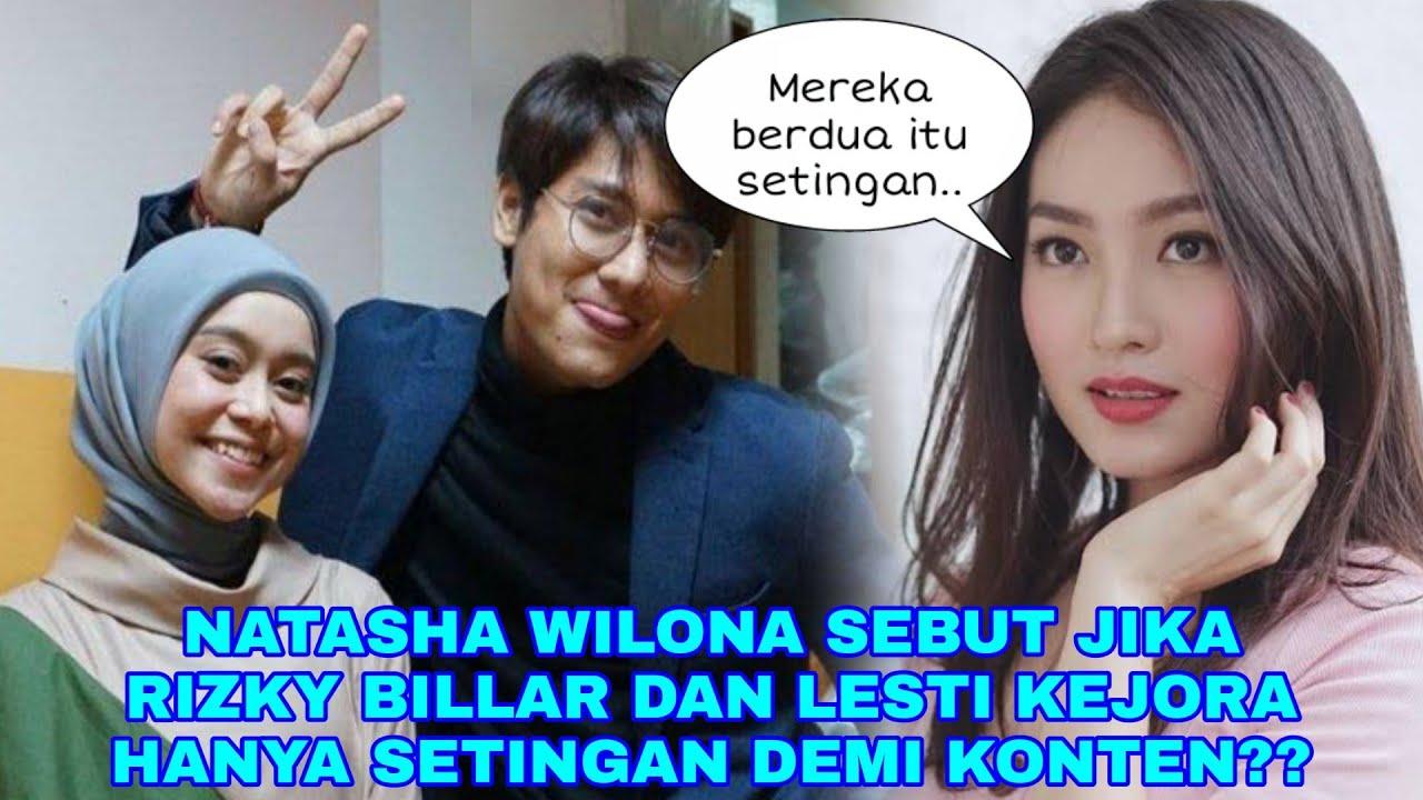 Natasha Wilona Beberkan Rizki Billar & Lesti Kejora Hanyalah Settingan Demi Konten Saja.. Ternyata