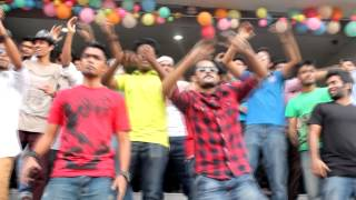 ICC T20 World Cup 2014 FlashMob by State University of Bangladesh
